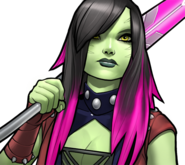 Gamora (Earth-TRN562) from Marvel Avengers Academy 001