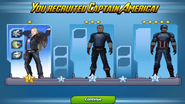 Captain America Ranks