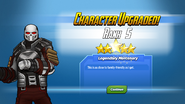 Character Upgraded! Crossbones Rank 5