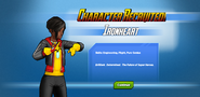 Character Recruited! Ironheart