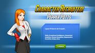 Character Recruited Pepper Potts