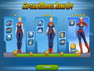 Captain Marvel Ranks