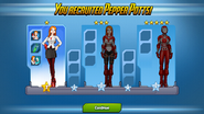 Pepper Potts Ranks