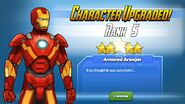 Character Upgraded Rank 5 Iron Man