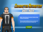 Character Recruited! Ghost Rider