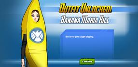 Outfit Unlocked Banana Maria Hill