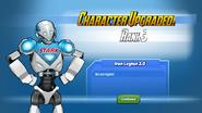 Character Upgraded! Iron Legion Robot Rank 3