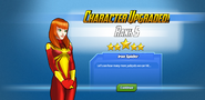 Character Upgraded! Mary Jane Rank 5