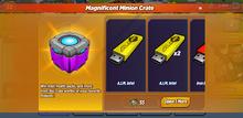 Magnificent Minion Crate