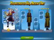 The Ancient One Ranks