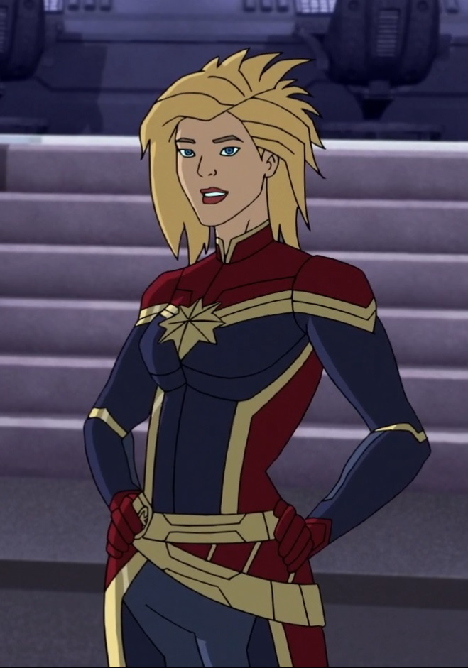 captain marvel avenger