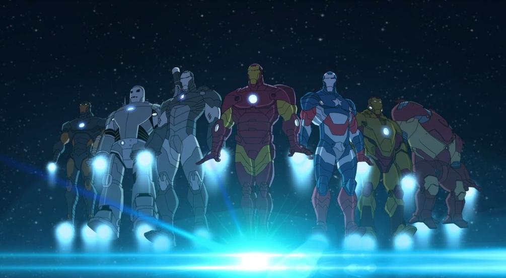 Iron Man's armor   Marvel's Avengers Assemble Wiki   FANDOM