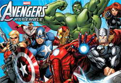 Avengers Assemble promotional poster