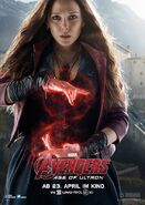 Avengers Age of Ultron deutsches Charakterposter Scarlett Witch