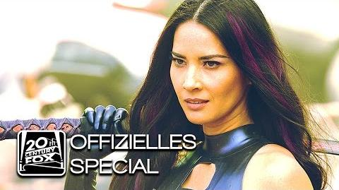 "X-Men Apocalypse ""Psylocke"" Betsy Braddock Character-Clip Deutsch HD (Olivia Munn)"