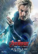 Avengers Age of Ultron deutsches Charakterposter Quicksilver