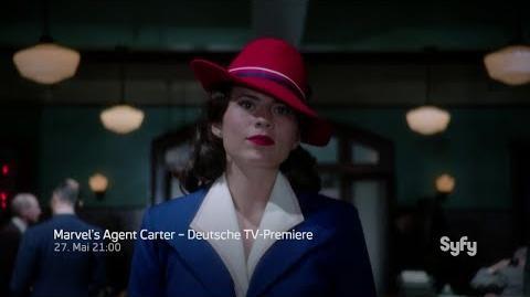 Marvel's Agent Carter Trailer 3 - Deutsche TV-Premiere - Syfy