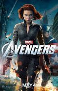 AvengersBlackWidowCaptAmericaPoster