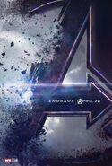 Avengers Endgame Teaserposter
