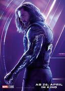 Avengers - Infinity War - Deutsches Winter Soldier Poster