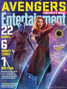 Avengers - Infinity War Entertainment Weekly Cover 12