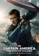 Captain America The Winter Soldier Captain Amierca Charakterposter 2