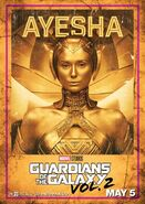 Guardians of the Galaxy Vol.2 Charakterposter Ayesha