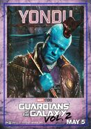 Guardians of the Galaxy Vol.2 Charakterposter Yondu