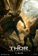 Thor - The Dark World Fandral Charakterposter