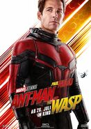 Ant-Man and the Wasp deutsches Charakterposter Ant-Man