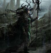 Thor Ragnarok Konzeptzeichnung 57