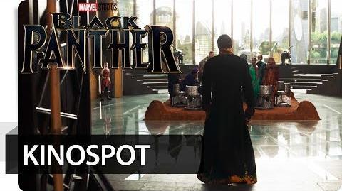 BLACK PANTHER - Entourage Marvel HD