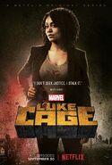 Marvel's Luke Cage Staffel 1 Misty Knight Charakterposter