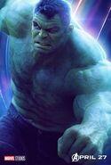 Avengers - Infinity War - Hulk Poster