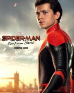 Spider-Man - Far From Home Charakterposter Spider-Man