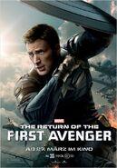 The Return of the First Avenger Captain America Charakterposter