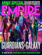 Guardians of the Galaxy Vol. 2 Empire Cover