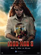Iron Man 3 deutsches Charakterposter Pepper Potts