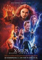 X-Men - Dark Pheonix deutsches Kinoposter