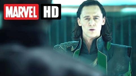 Marvel's THE AVENGERS - Filmclip - Loki ist gefangen