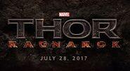 Thor Ragnarok Filmlogo