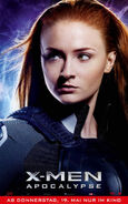 X-Men Apocalypse - Jean Grey deutsches Charakterposter