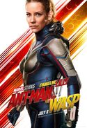 Ant-Man and the Wasp Charakterposter Wasp