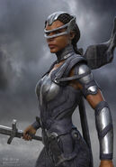 Thor Ragnarok Konzeptzeichnung 112