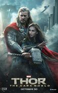 Charakterposter Thor und Jane Foster Thor - The Dark World