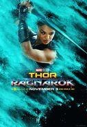 Thor Ragnrok Charakterposter Valkyrie