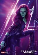Avengers - Infinity War - Deutsches Gamora Poster
