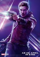 Avengers - Infinity War - Deutsches Star-Lord Poster