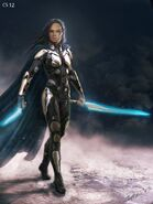 Thor Ragnarok Konzeptzeichnung 122