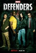 Marvel's The Defenders Staffel 1 Poster